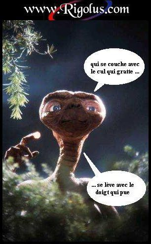 extraterrestre drole